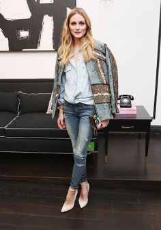 Le look d'Olivia Palermo © Getty Images
