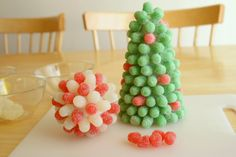 Gumdrop Tree Craft #CandyCrafts #CandyTree