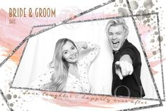 Modern Geometric — Calgary Photo Booth Rental | FOTOMOJI Booth Co. — Templates Photobooth Template, Image Layout, Paint Splash, Rose Gold Foil, Single Image, Photoshop Elements, New Fonts, Calgary, Geometric Shapes