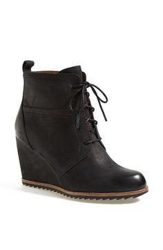 Biala 'Alyssa' Lace-Up Wedge Boot (Women) (Nordstrom Exclusive) available at #Nordstrom #HumanHairGuru
