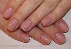 Perfect natural buffed nails are the new in thing!