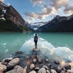 Lago Louise, Alberta, Canadá.