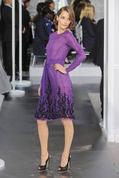 See the entire collection from the Christian Dior Spring 2012 Couture runway show.
