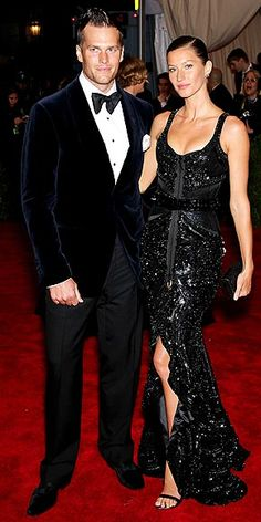 Tom Brady & Gisele: can they get any hotter? #Givenchy