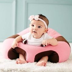 This seat that gives babies 360-degree support as they learn how to sit up on their own. | 17 Incredibly Cool Parenting Products You Need In 2017