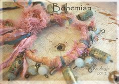 Bohemian Gypsy Bangles by Staffordshire Garden / Shari Replogle, via Flickr