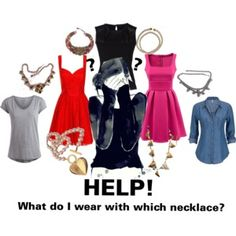 I need HELP with Necklaces!