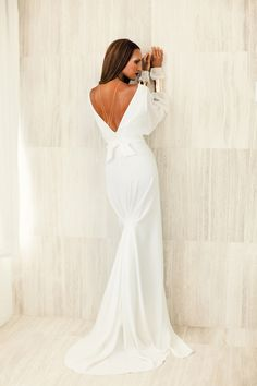 Tiffany dress white gown