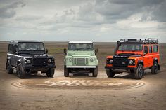LAND ROVER DEFENDER CELEBRATION SERIES The beloved Defender will see its decades-long run end later this year as UK production of the current model winds down. Toast this lasting legacy with the Land Rover Defender Celebration Series. Created to celebrate a different element of the...