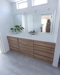 Bathroom Renos, Bathroom Interior, Interior Design Living Room, Living Room Designs, Floating Bathroom Vanities, Apartment Interior, Beautiful Bathrooms, Ideal Home, New Homes