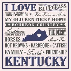 I Love Kentucky Sign