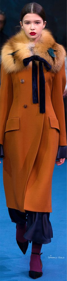 Roksanda Fall 2016 Ready-to-Wear Fashion Show