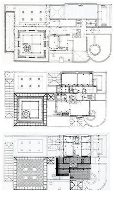 OSWALD MATHIAS UNGERS | ARCHITECT'S HOUSE | COLOGNE; GERMANY | 1958-1990