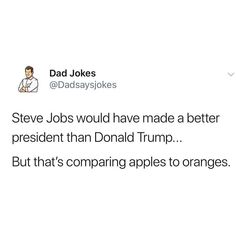 Whether you love 'em or you hate 'em, you can't deny that dad jokes are amusing. Luckily for us, there seems to be a near-endless supply of them Best Dad Jokes, Great Jokes, Jokes For Kids, Dumb Jokes, Funny Puns, Funny Cartoons, Hilarious, Cheesy Puns, Dad Humor