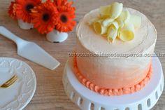 Bolo de laranja e chocolate branco   Receitas e Temperos