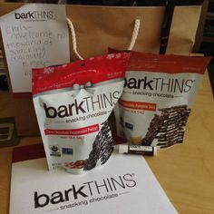 barkTHINS - snacking chocolate - eat all the things!