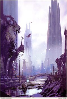 Stephan Martiniere - City In Winter