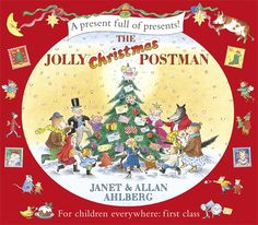 The Jolly Christmas Postman | Janet and Allan Ahlberg | #SeasonsReadings It's Christmas Eve and the Jolly Postman is delivering greetings to various fairy-tale characters - there's a card for Baby Bear, a game appropriately called 'Beware' for Red Riding Hood from Mr Wolf, a get-well jigsaw for hospitalised Humpty Dumpty and three more surprise envelopes. With this edition, you can take each colourful gift out of its envelope and discover what characters are sending to one another for…