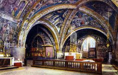 church of st francesco, assissi, italy | Church of San Francesco - The Cruise, Basilica of St Francis of Assisi ...