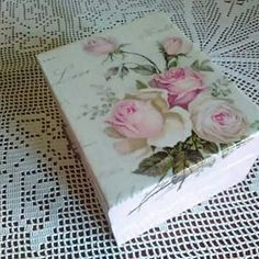 Decoupage Box, Small Businesses, Decorative Boxes, Shops, Hand Painted, Etsy Shop, My Favorite Things, Handmade Gifts, Painting