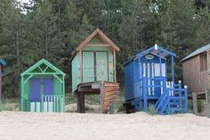 Beach Huts, Wells-next-the-Sea, Norfolk, England