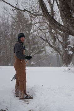 Snow Fall in Jaffrey, New Hampshire