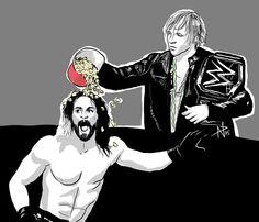 Seth Rollins & Dean Ambrose #Art #WWE