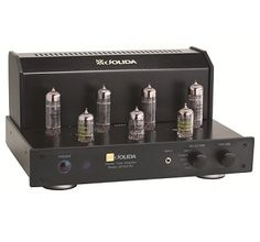 Jolida JD102CRC Integrated Tube Stereo Amp. Meet Jolida's latest high-performance vacuum tube components. These components offer an unusual combination of the new and the old in audio technology: digital convenience and tube analog sound. www.needledoctor.com