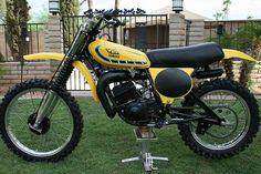 1976 Yamaha YZ125X. My first motocross bike :)