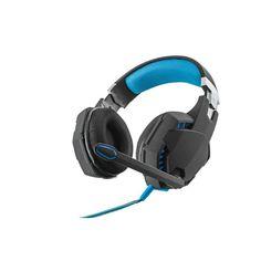 Trust GXT 363 7.1 Bass Vibration Headset Black Blue - Világító gaming  fejhallgató 53569aab4a