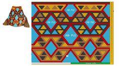 Crochet Chart, Knit Crochet, Crochet Patterns, Tapestry Bag, Tapestry Crochet, Crochet Clutch, Boho Bags, Brick Stitch, Knitted Bags