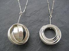 Sphere Necklace. $80.00, via Etsy.