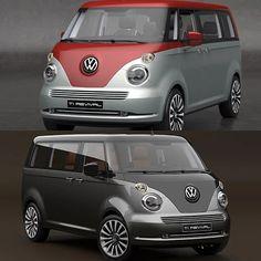 Volkswagen T1 Revival Concept, a kombi repaginada