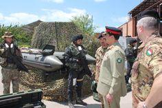 COAS General Raheel Sharif in Italy