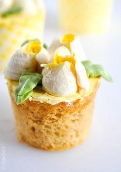 Lemon Ginger Cupcake