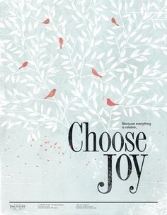 I own this print and it is in my bathroom and reminds me each day to choose wisely in joy. @evajuliet