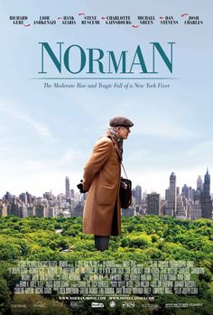 Norman: The Moderate Rise and Tragic Fall of a New York Fixer Movie Poster with Richard Gere http://ift.tt/2kCwGBn