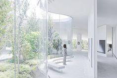 Hiroshi Senju Museum / Ryue Nishizawa, photo by Iwan Baan