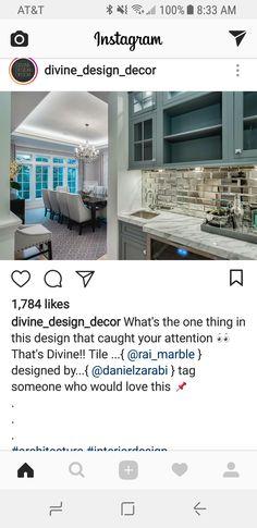 Mirror Backsplash Kitchens Kitchen Cuisine Home Cucina Interior