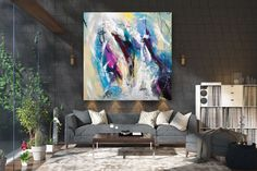 Original Abstract Painting,Large Abstract Painting,unique painting art,original abstracts,xl abstract painting FY0025