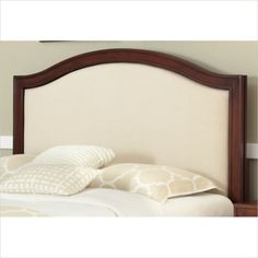 Shop for Duet King / California King Panel Headboard Oyster Microfiber Inset by Home Styles. Get free delivery On EVERYTHING* Overstock - Your Online Furniture Shop! Linen Headboard, Full Headboard, Headboards, Headboard Ideas, New Furniture, Bedroom Furniture, California King Headboard, Kings Home, Nebraska Furniture Mart