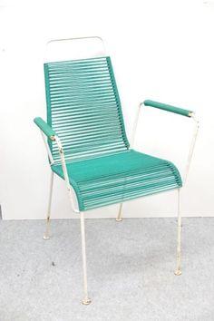 Tolle und seltene Spagettistühle mit und ohne Armlehnen. Die Sitzflächen sind alle gut in...,Stuhl Gartenstühle Spagettistuhl 60er Vintage in Hamburg - Hamburg Barmbek-Süd
