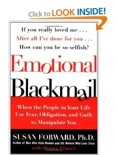Susan forward emotional blackmail pdf