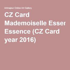 CZ Card Mademoiselle Essence (CZ Card year 2016)