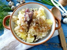Good Food, Yummy Food, Cookbook Recipes, Risotto, Oatmeal, Rice, Cooking, Breakfast, Ethnic Recipes