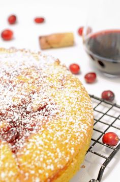 Cranberry Swirl Cake Recipe by Platter Talk