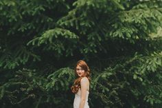 That color! Gorgeous hair. Backyard Wedding | Natalie   Will