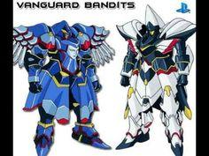 Vanguard Bandits - holy and dark mecha -  #fantasy #baroque