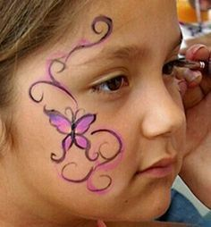 Image result for easy face painting designs step by step #stepbystepfacepainting