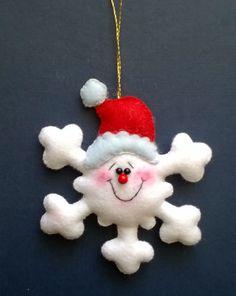 Снежинки из фетра своими руками — шаблоны, идеи для вдохновения